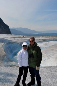 Linda and Ken Bell visiting Alaska